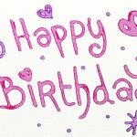 Sample birthday letter to a husband or partner