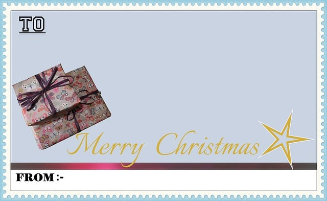 Sample Christmas letters to customers